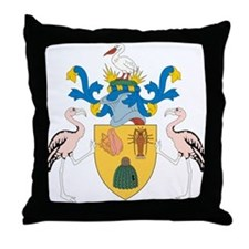 Turks and Caicos Islands Co Throw Pillow