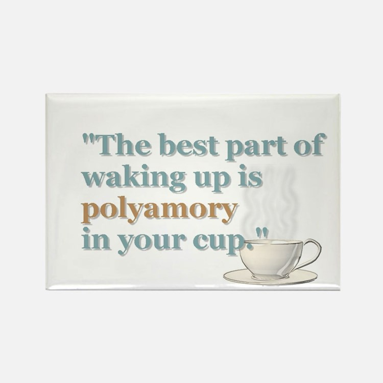 """Waking Up"" Magnet"