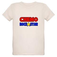 """Chemo Rock Star"" Organic Kids T-Shirt"
