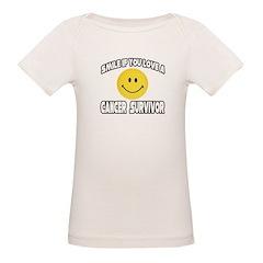 """""""Smile: Love Cancer Survivor"""" Tee"""