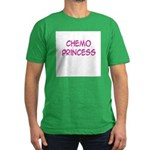 'Chemo Princess' Men's Fitted T-Shirt (dark)