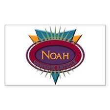 Noah Rectangle Sticker 10 pk)