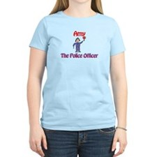 Amy - Police Officer T-Shirt