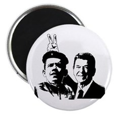 Ron Gives Obama the Rabbit Ears Magnet