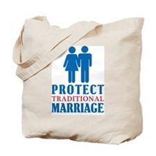 Protect Traditional Marriage Tote Bag