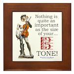 Viola Tone Framed Tile
