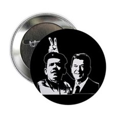 """Ron Gives Obama the Rabbit Ears 2.25"""" Button"""