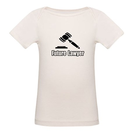 """Future Lawyer"" Organic Baby T-Shirt"