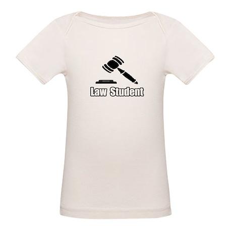 """Law Student"" Organic Baby T-Shirt"