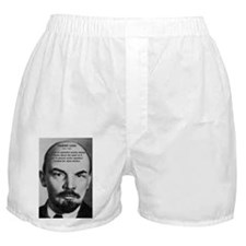 Capitalism and Lenin Boxer Shorts