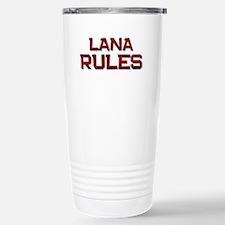 lana rules Travel Mug
