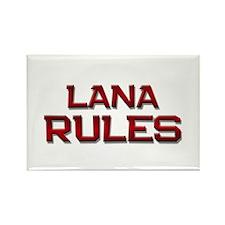 lana rules Rectangle Magnet