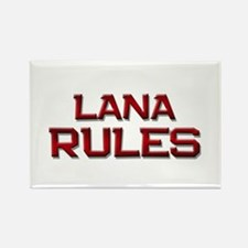 lana rules Rectangle Magnet