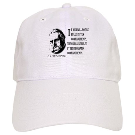 G.K.CHESTERTON AND THE TEN CO Cap