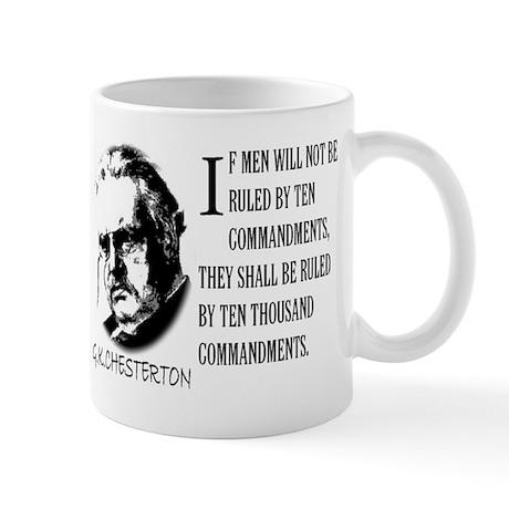 G.K.CHESTERTON AND THE TEN CO Mug