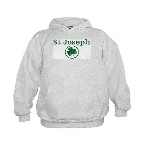 St Joseph shamrock Kids Hoodie