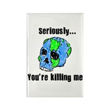 Killing the Earth Rectangle Magnet (10 pack)