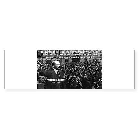 Vladimir Lenin Revolution Bumper Sticker