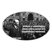 USSR Foundation Lenin Oval Decal
