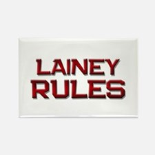 lainey rules Rectangle Magnet