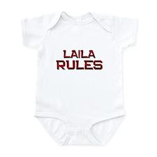 laila rules Infant Bodysuit