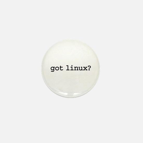 got linux? Mini Button