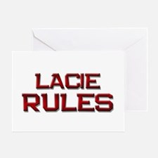 lacie rules Greeting Card