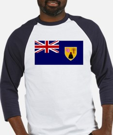Turks and Caicos Islands Fla Baseball Jersey