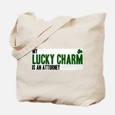 Attorney lucky charm Tote Bag