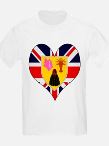 I Love Turks and Caicos Isla T-Shirt