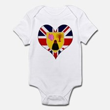 I Love Turks and Caicos Isla Infant Bodysuit