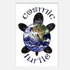 Cosmic Turtle Postcards (Package of 8)