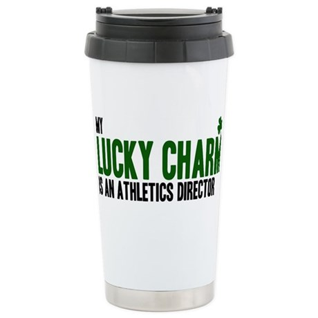 Athletics Director lucky char Stainless Steel Trav