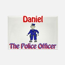 Daniel - Police Officer Rectangle Magnet