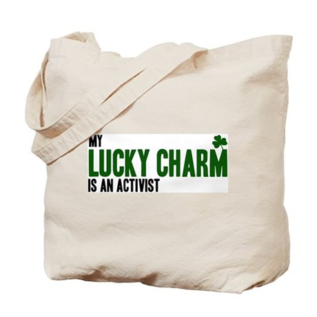 Activist lucky charm Tote Bag