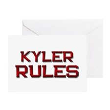 kyler rules Greeting Card