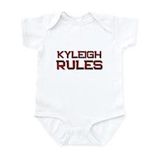 kyleigh rules Infant Bodysuit