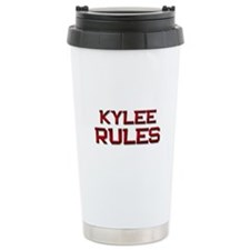 kylee rules Travel Coffee Mug