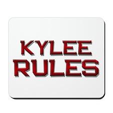 kylee rules Mousepad