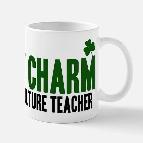 Agriculture Teacher lucky cha Mug