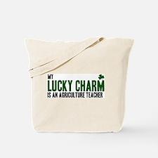 Agriculture Teacher lucky cha Tote Bag