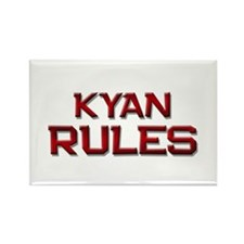 kyan rules Rectangle Magnet