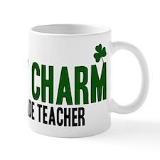 6th Grade Teacher lucky charm Mug