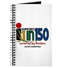 I Support 1 In 150 & My Brothers Journal