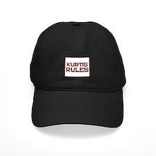 kurtis rules Baseball Hat
