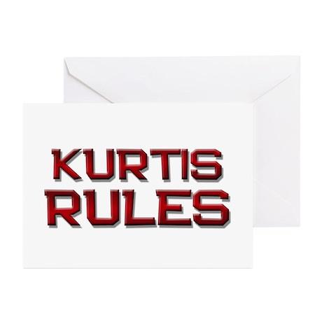 kurtis rules Greeting Cards (Pk of 10)