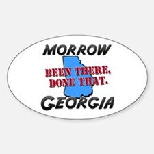 morrow georgia - been there, done that Decal