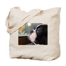 Funny French bulldog Tote Bag