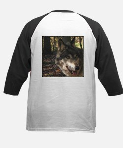 Wolf Portrait Side View Tee