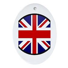 United Kingdom Oval Ornament